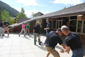This is Mike Janich's Martial Blade Camp in 2013. This year join me (Mike S.) and Mike in Colorado for some incredible immersion training!  Sign up NOW before it fills, and tell him you heard about it on the S-P Blog.
